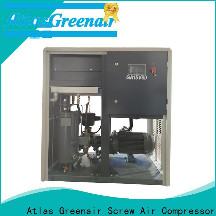 Atlas Greenair Screw Air Compressor customized variable speed air compressor manufacturer for tropical area
