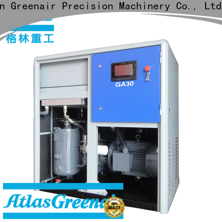 single stage fixed speed rotary screw air compressor for busniess wholesale
