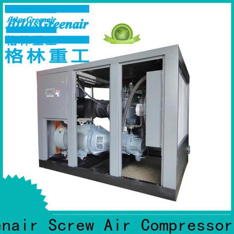 Atlas Greenair Screw Air Compressor high quality fixed speed rotary screw air compressor for busniess wholesale