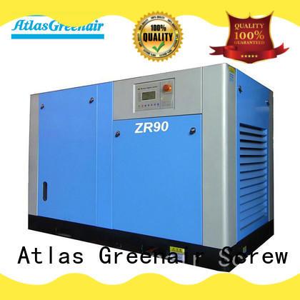 Atlas Greenair Screw Air Compressor wholesale oil free rotary screw air compressor with high efficient air end for sale