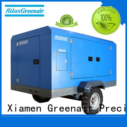 portable screw compressor easy maintenance for tropical area