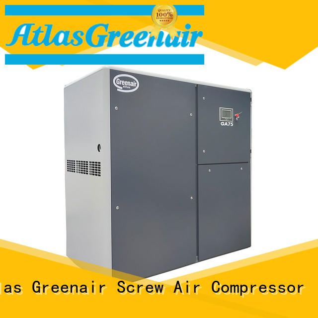 fixed fixed speed rotary screw air compressor with an oil content wholesale