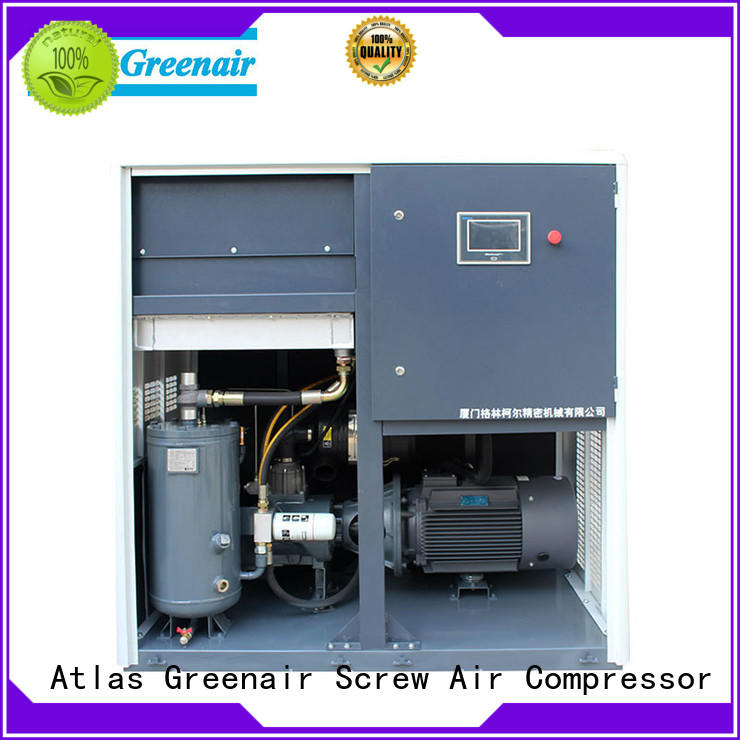 Atlas Greenair Screw Air Compressor variable speed air compressor with an asynchronous motor for sale