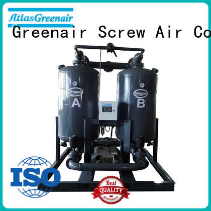 Atlas Greenair Screw Air Compressor new adsorption air dryer supplier for a high precision operation