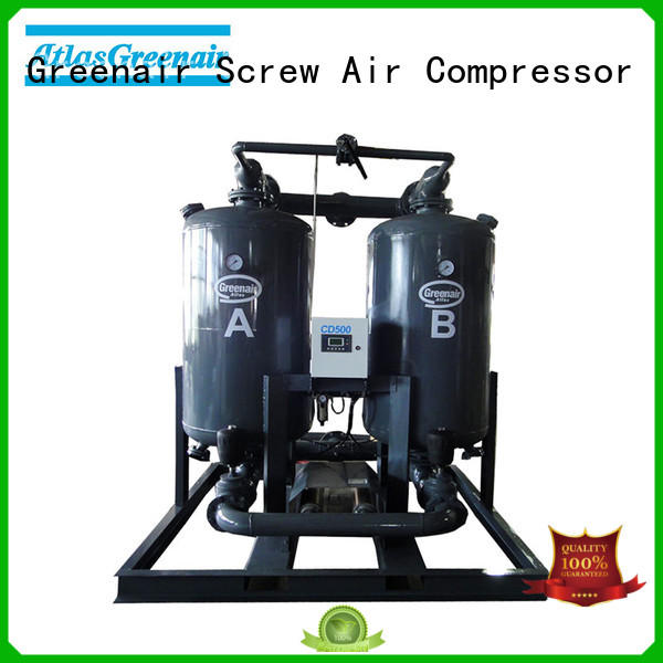 adsorption air dryer fast delivery for sale Atlas Greenair Screw Air Compressor