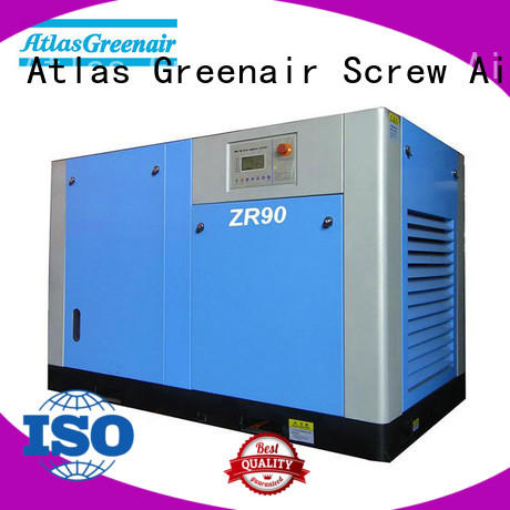 Atlas Greenair Screw Air Compressor wholesale oil free rotary screw air compressor with high efficient air end customization
