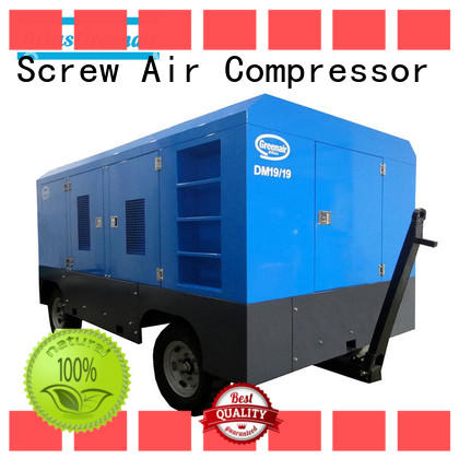 Atlas Greenair Screw Air Compressor portable diesel air compressor with filtration and cooling system for sale