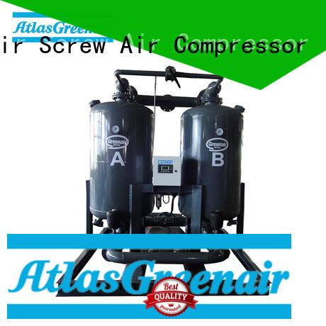 Atlas Greenair Screw Air Compressor best adsorption air dryer factory for sale
