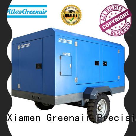 Atlas Greenair Screw Air Compressor high quality portable screw compressor with intelligent control system wholesale