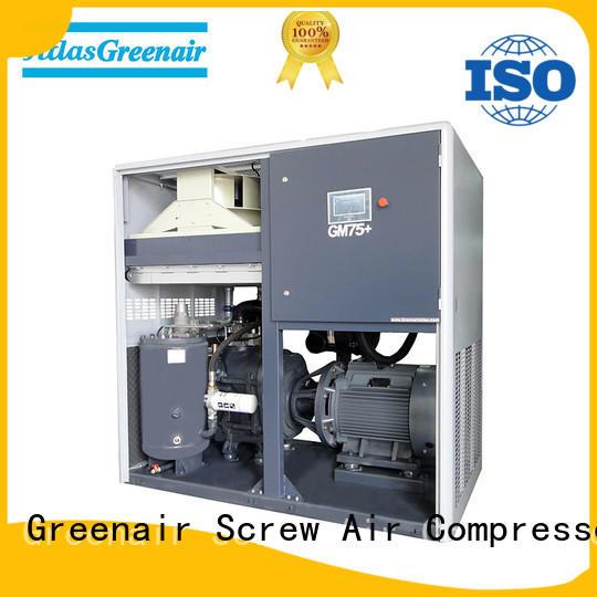 Atlas Greenair Screw Air Compressor wholesale variable speed air compressor supplier customization