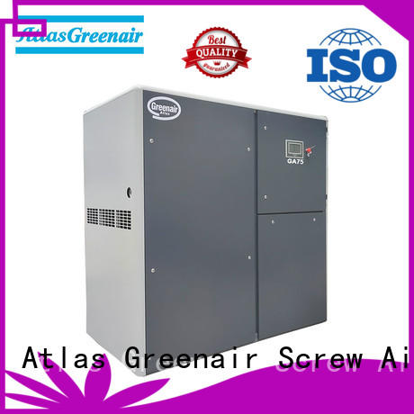 Atlas Greenair Screw Air Compressor high quality atlas copco screw compressor with an oil content wholesale