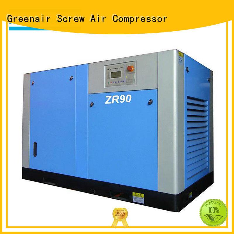 Atlas Greenair Screw Air Compressor top oil free rotary screw air compressor supplier for tropical area