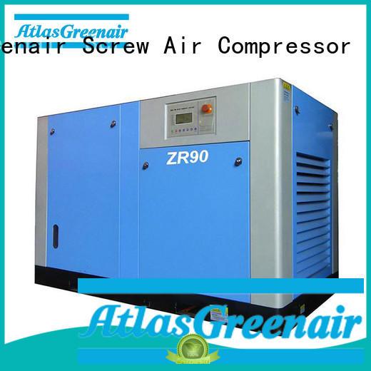 Atlas Greenair Screw Air Compressor oil free rotary screw air compressor factory for sale