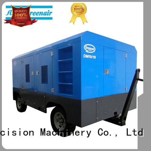 Atlas Greenair Screw Air Compressor rotary portable diesel air compressor manufacturers for tropical area