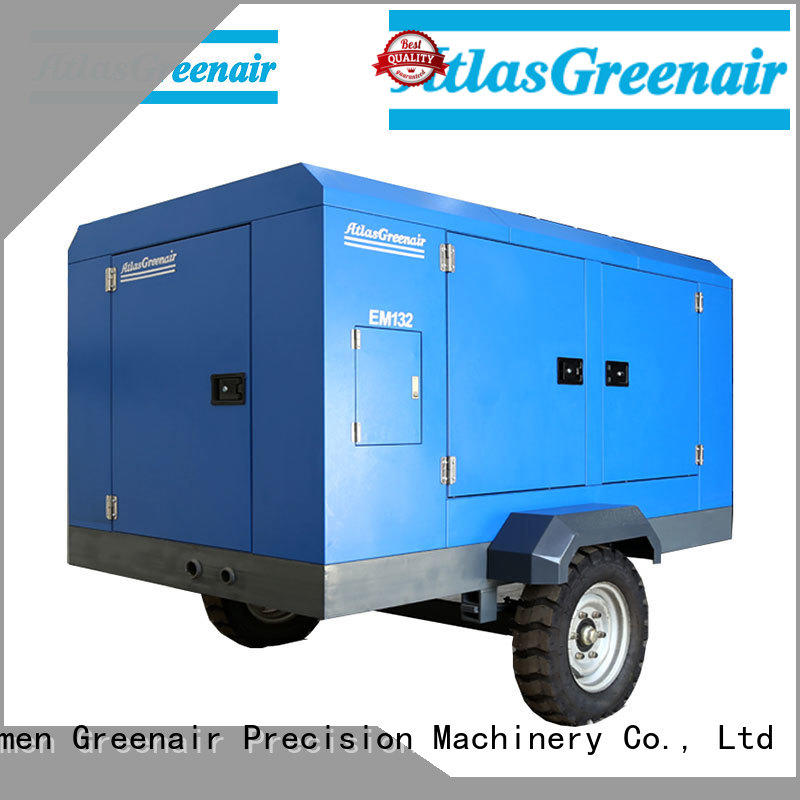 Atlas Greenair Screw Air Compressor electric rotary screw air compressor easy maintenance wholesale