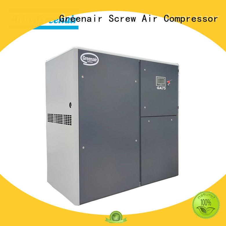 Atlas Greenair Screw Air Compressor single stage atlas copco screw compressor company for tropical area