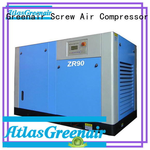 Atlas Greenair Screw Air Compressor popular atlas copco oil free air compressor for sale