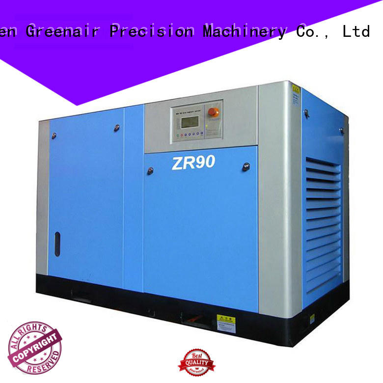 wholesale oil free rotary screw air compressor with high efficient air end for tropical area