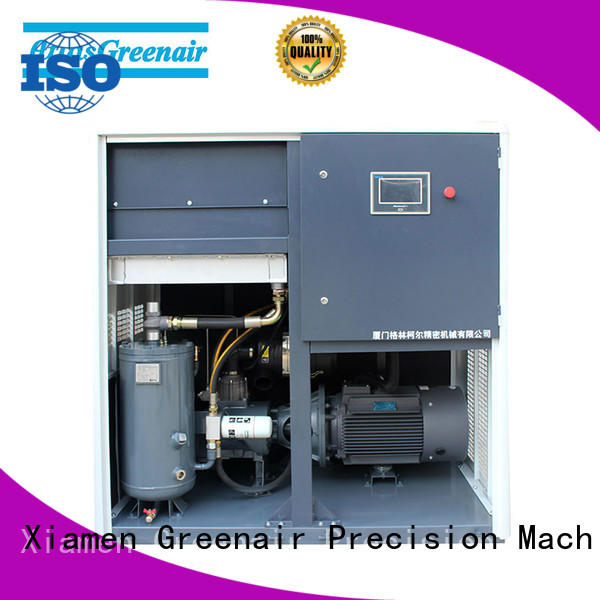 professional variable speed air compressor with four pole motor for tropical area