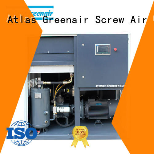Atlas Greenair Screw Air Compressor wholesale variable speed air compressor for busniess customization
