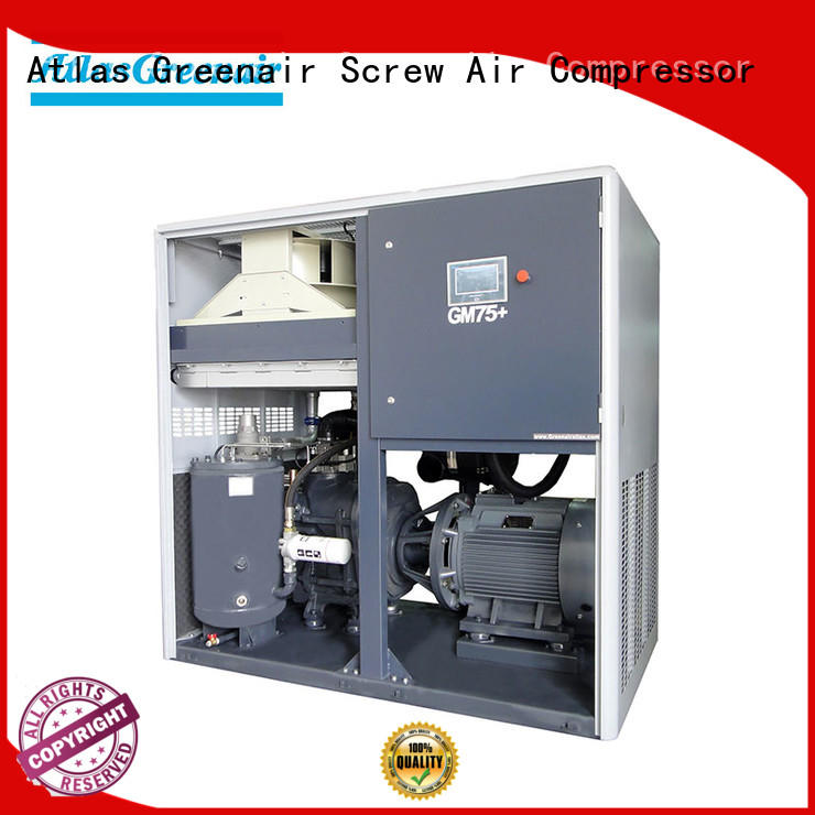 Atlas Greenair Screw Air Compressor variable speed air compressor factory for tropical area