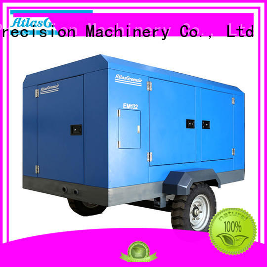 Atlas Greenair Screw Air Compressor latest portable screw compressor easy maintenance for sale