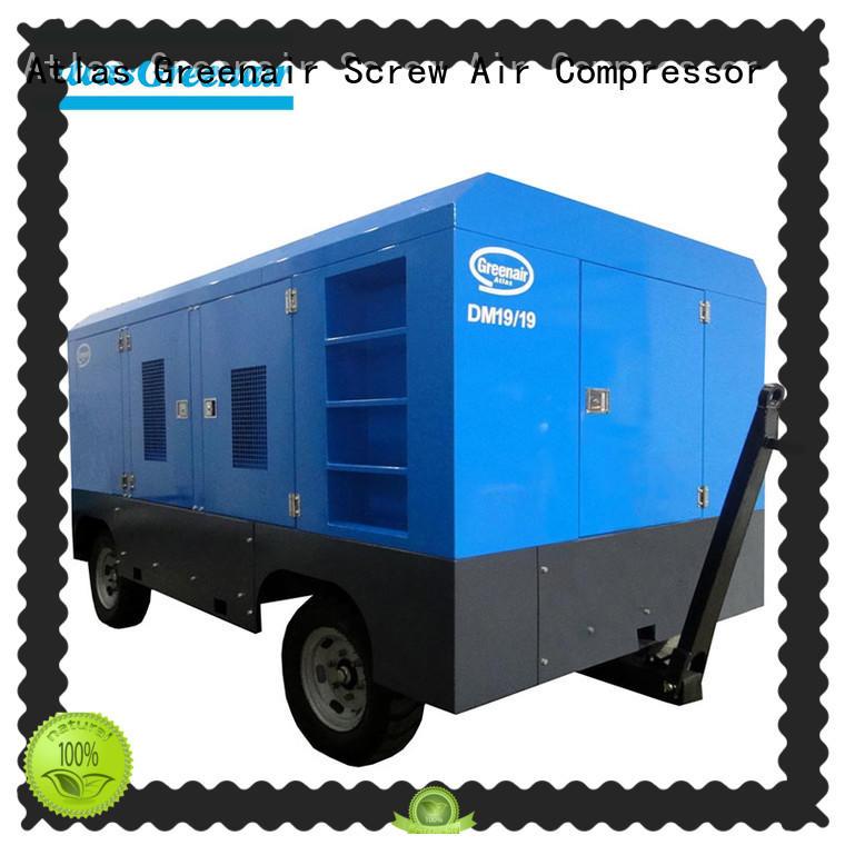 Atlas Greenair Screw Air Compressor mobile air compressor manufacturer for sale