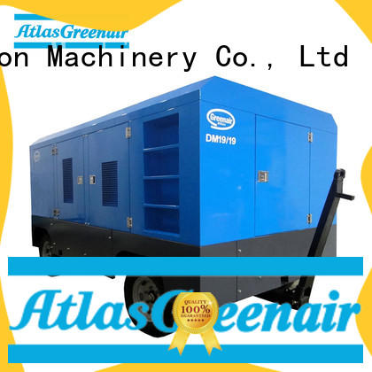 Atlas Greenair Screw Air Compressor mobile air compressor factory for sale