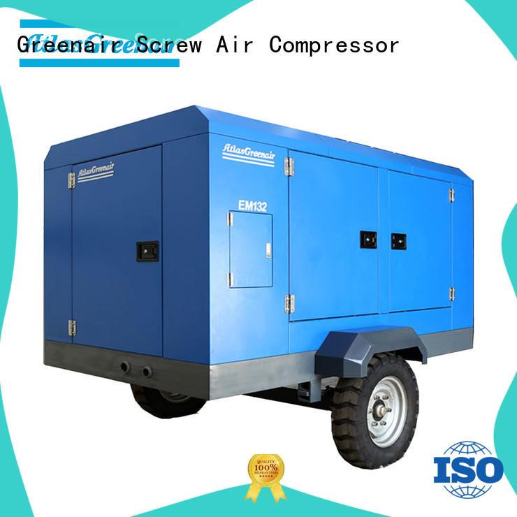 Atlas Greenair Screw Air Compressor electric rotary screw air compressor with intelligent control system wholesale