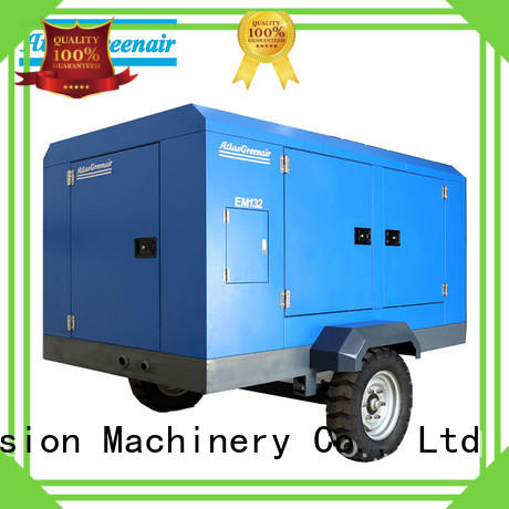 new portable screw compressor for busniess for sale