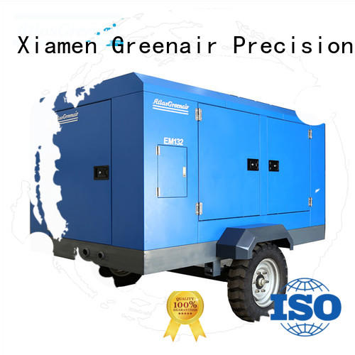 customized portable screw compressor with intelligent control system wholesale