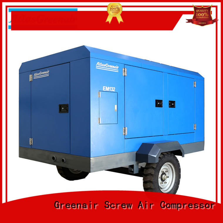 Atlas Greenair Screw Air Compressor efficient electric rotary screw air compressor for sale