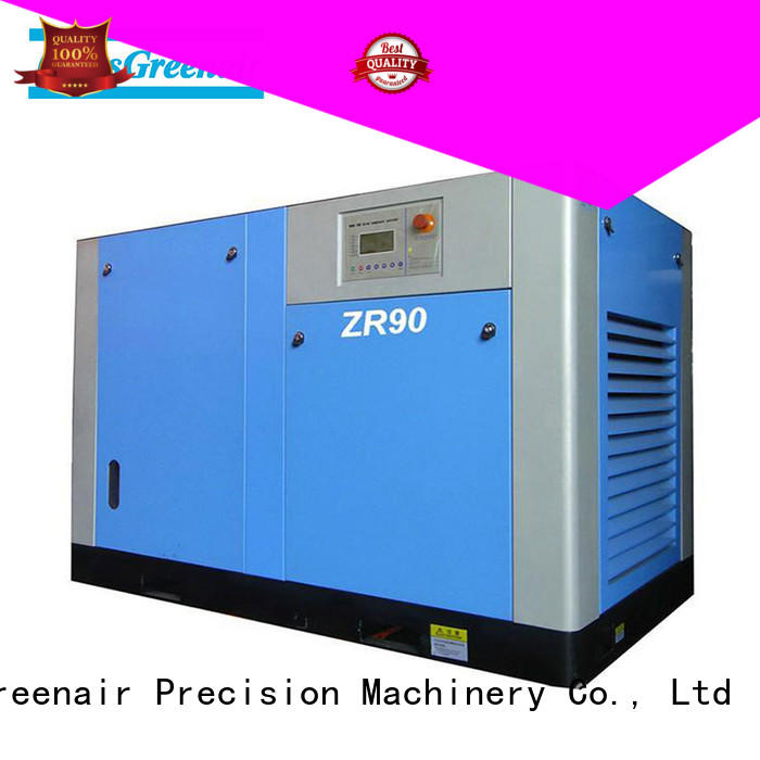 Atlas Greenair Screw Air Compressor high quality oil free rotary screw air compressor company for tropical area
