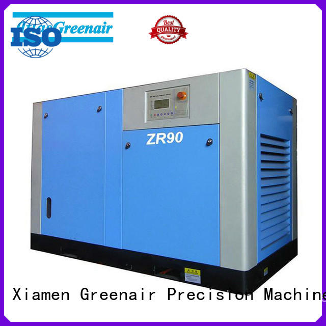 zr oil free rotary screw air compressor with no lubrication oil for tropical area