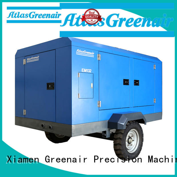 Atlas Greenair Screw Air Compressor top portable screw compressor supplier for sale