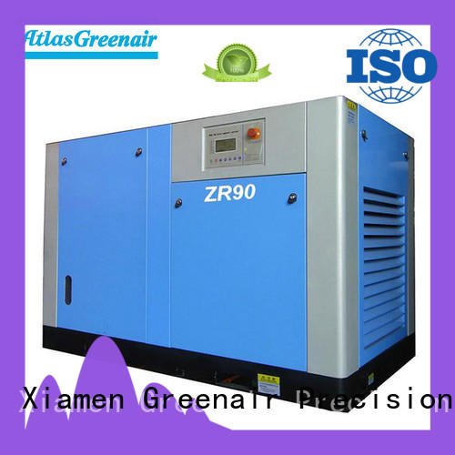 Atlas Greenair Screw Air Compressor oil free rotary screw air compressor with high efficient air end customization