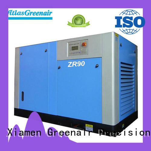 Atlas Greenair Screw Air Compressor oil free rotary screw air compressor with high efficient air end customization