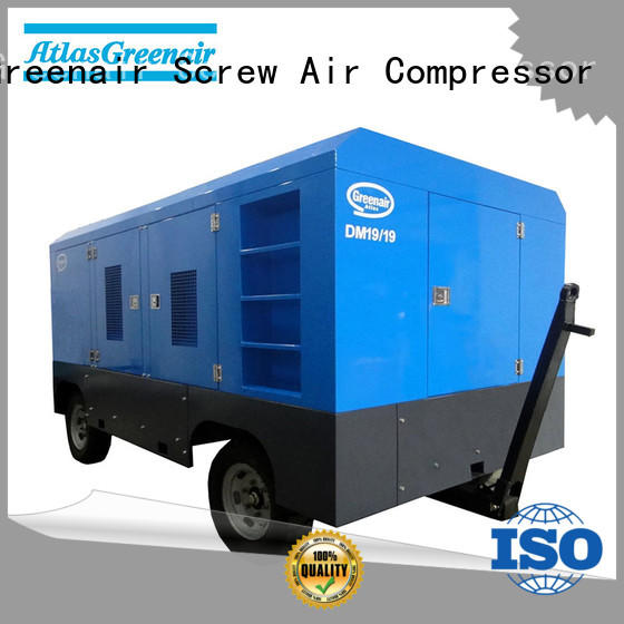 screw diesel rotary screw air compressor manufacturer for tropical area