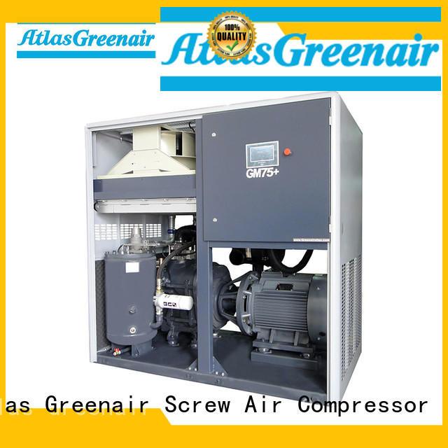 Atlas Greenair Screw Air Compressor customized vsd compressor atlas copco with a single air compressor for sale