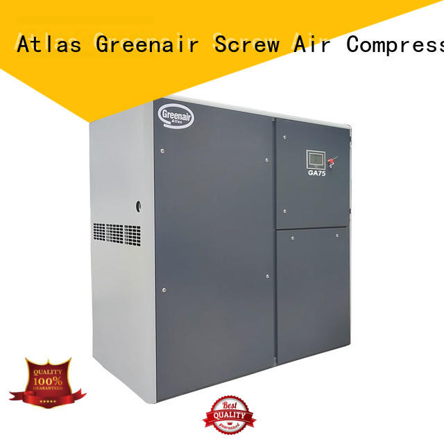 Atlas Greenair Screw Air Compressor fixed atlas copco screw compressor for busniess wholesale