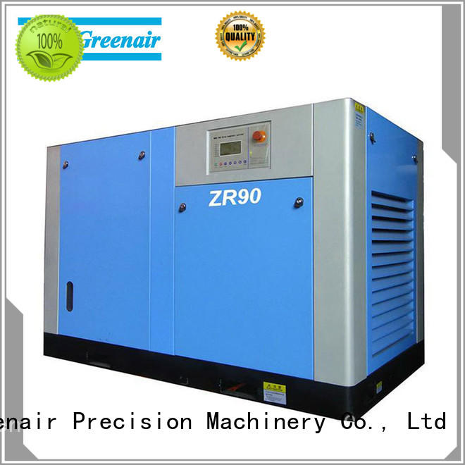 oil free screw air compressor for tropical area Atlas Greenair Screw Air Compressor