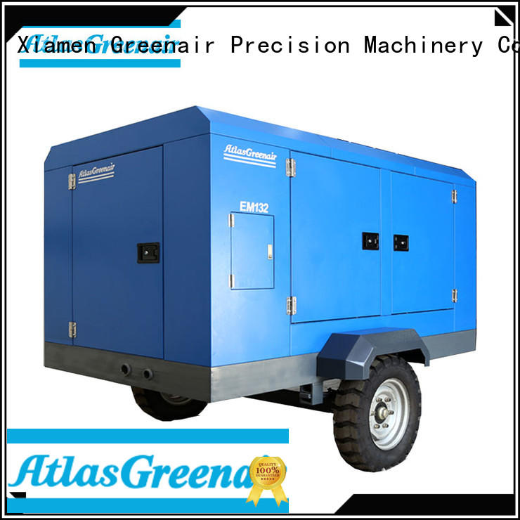 Atlas Greenair Screw Air Compressor professional electric rotary screw air compressor factory for sale