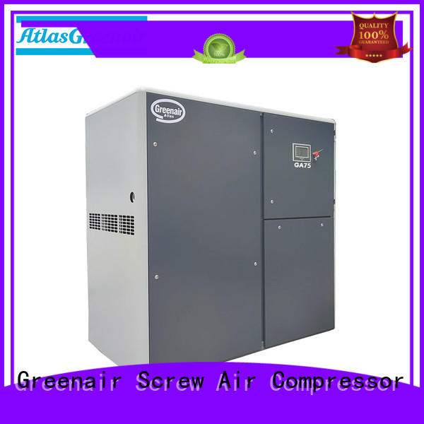 Atlas Greenair Screw Air Compressor fixed fixed speed rotary screw air compressor company for sale