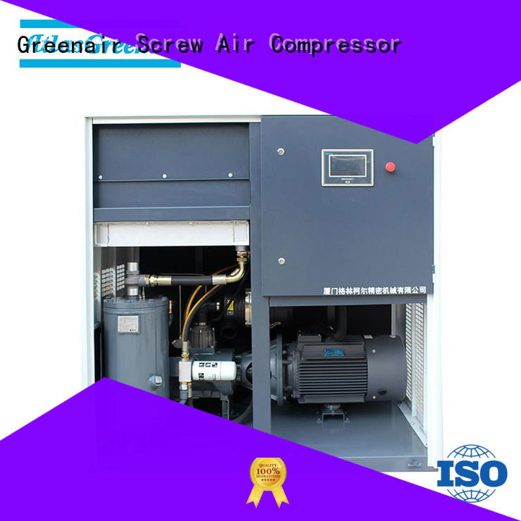 Atlas Greenair Screw Air Compressor two stage variable speed air compressor with an asynchronous motor customization