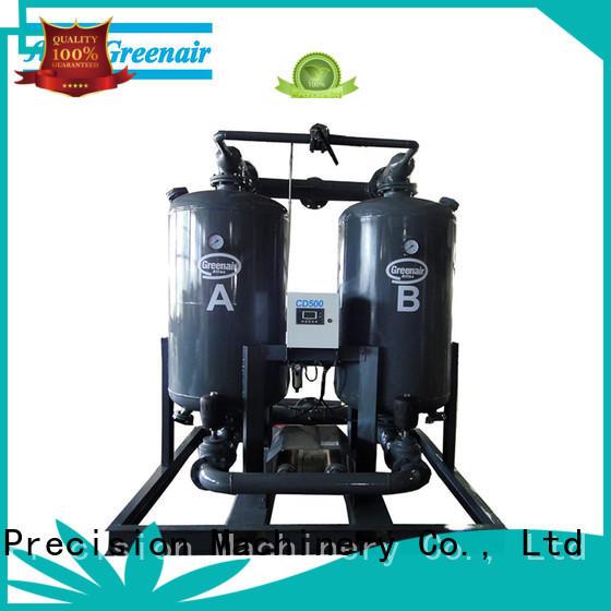 high end air compressor desiccant dryer with a special silencer for a high precision operation Atlas Greenair Screw Air Compressor