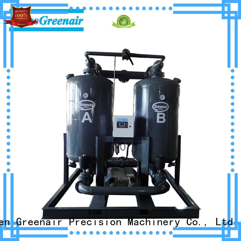 high quality desiccant dryer with a special silencer for a high precision operation