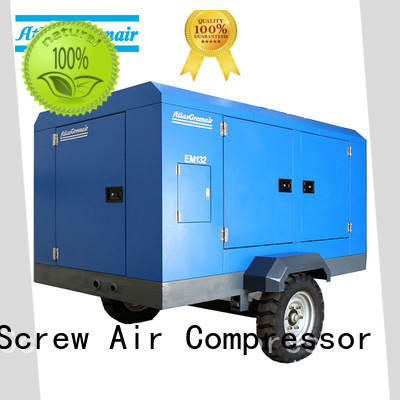 Atlas Greenair Screw Air Compressor portable screw compressor manufacturer for tropical area
