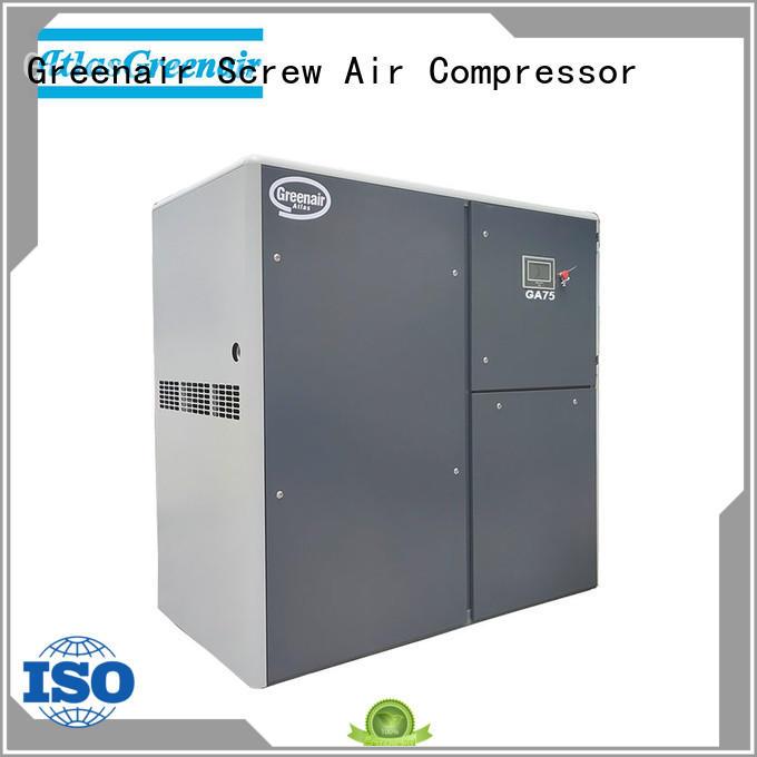 atlas copco screw compressor with an oil content for tropical area Atlas Greenair Screw Air Compressor