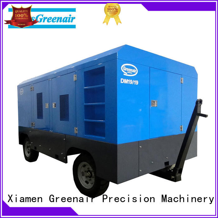 Atlas Greenair Screw Air Compressor portable diesel air compressor supplier design