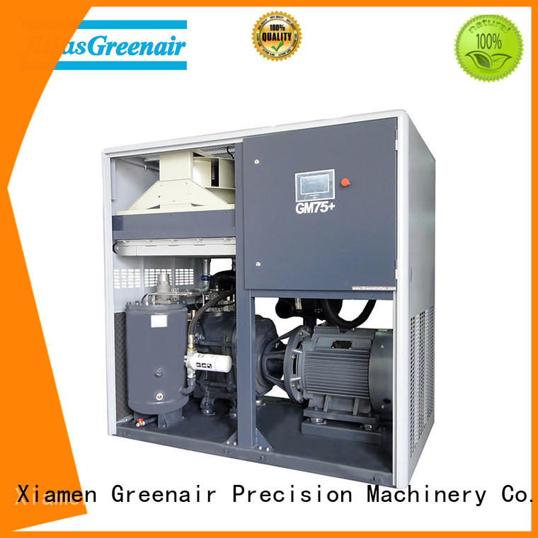 Atlas Greenair Screw Air Compressor vsd variable speed air compressor with a single air compressor for tropical area